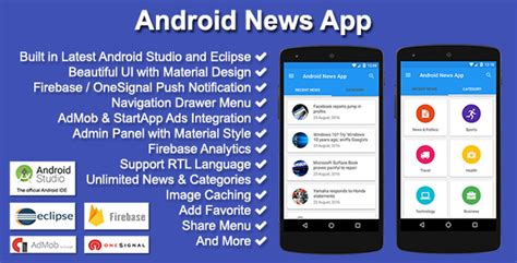 newspaper layout app android news app by solodroid codecanyon