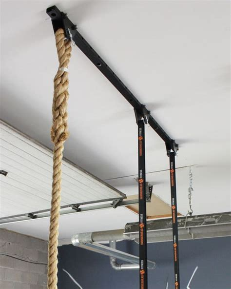adjustable ceiling mount system climbing rope gymnastic