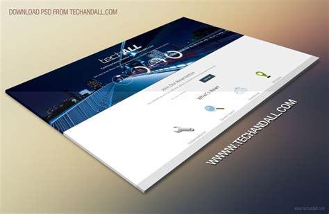 Website Perspective Showcase Mockup Free Psd Free Website Presentation Psd