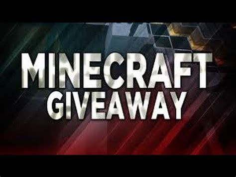 Free Minecraft Giveaway - free minecraft account giveaway closed july 2016 youtube
