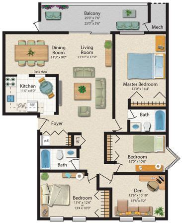 3 bedroom apartments in baltimore 9 best floor plans images on floor plans