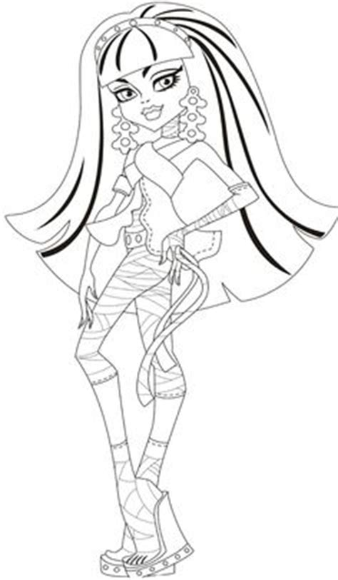 monster high coloring pages cleo de nile dawn of the dance 1000 images about monster high coloring on pinterest
