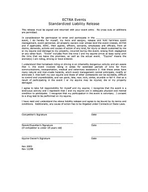 Bill Of Sale Form Georgia Horseback Riding Liability Release Form Templates Fillable Equine Hold Harmless Agreement Template