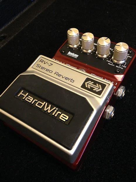 one hardwire digitech rv 1 reverb hardwire reverb