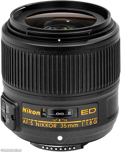 nikon 35mm nikon 35mm f 1 8 g fx review