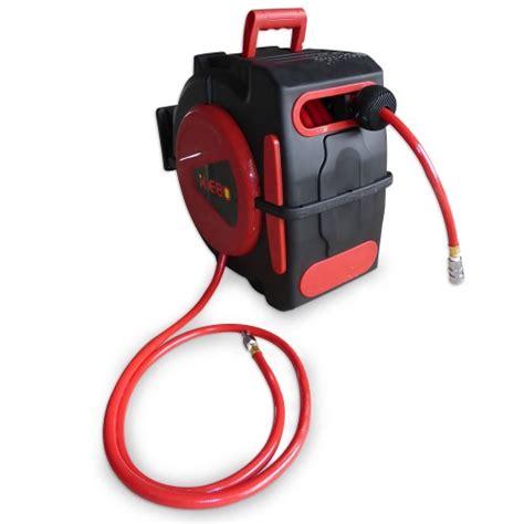 Air Hose Reel 8 M Plastik Top Quality Perkakas Angin Selang top quality xiebo 20m retractable air hose reel bonus nitto fittings compressor
