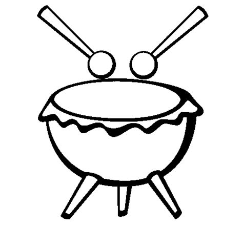 imagenes de tambores aztecas dibujo de tambor iii para colorear dibujos net