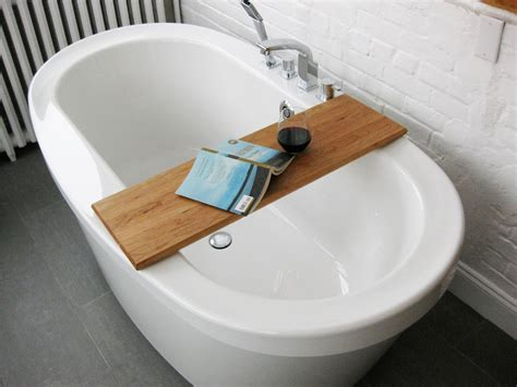 bathtub reading caddy designs awesome wooden bathtub caddy reading rack 17 how