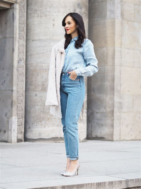 Would You Wear An All Denim Like On Project Runway Last by An All Denim Les Berlinettes