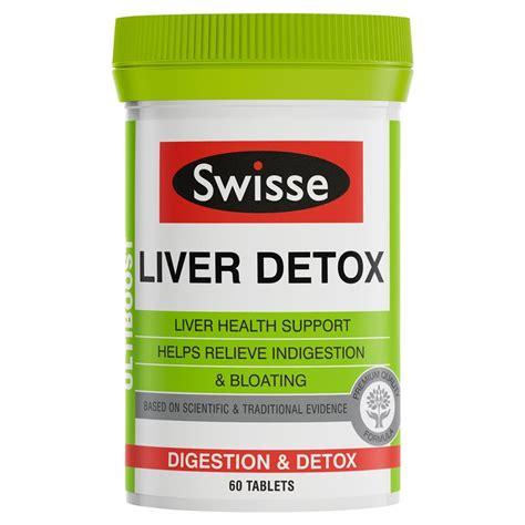 15 Day Detox Chemist Warehouse by Buy Swisse Ultiboost Liver Detox 60 Tablets At