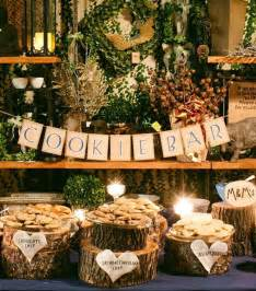 Backyard Wedding Catering by Fall Country Wedding Cookie Bar Ideas Tulle Amp Chantilly