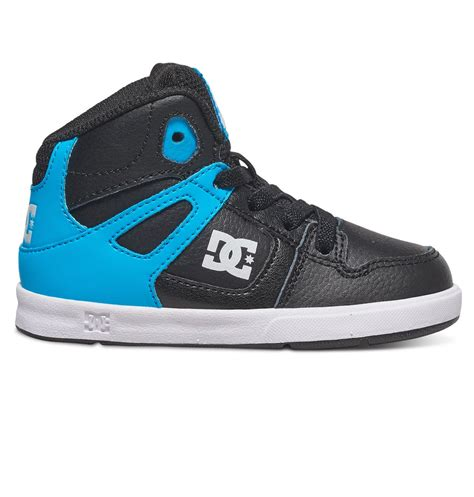 high top shoes for toddler dc shoes toddler s rebound ul high top shoes 320167 ebay