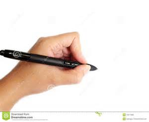 Left handed person writing royalty free stock images image 13517689