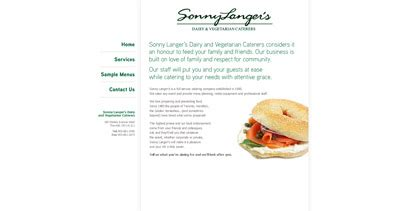 Food One Page Websites Page 19 Of 19 Sonny Template Squarespace