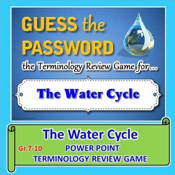 18 Best Images About My Powerpoint Review Games On Water Cycle Jeopardy