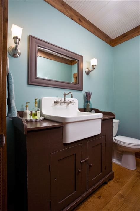 bathroom farm sink mill creek ridge farmhouse farmhouse bathroom