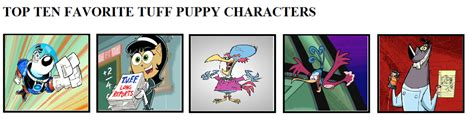 tuff puppy characters top five favorite tuff puppy characters by theevildoer on deviantart