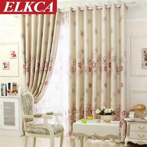 living room curtain sets flowers modern curtain set floral blackout curtains for