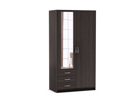 3 And An Armoire by Armoire 2 Portes 3 Tiroirs Mars Coloris Ch 234 Ne Vulcano
