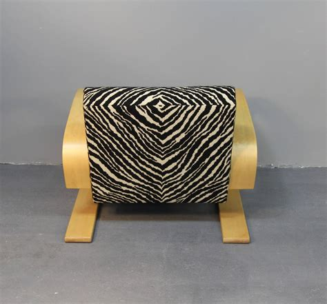 zebra pattern chair alvar aalto tank chair with zebra pattern upholstery at