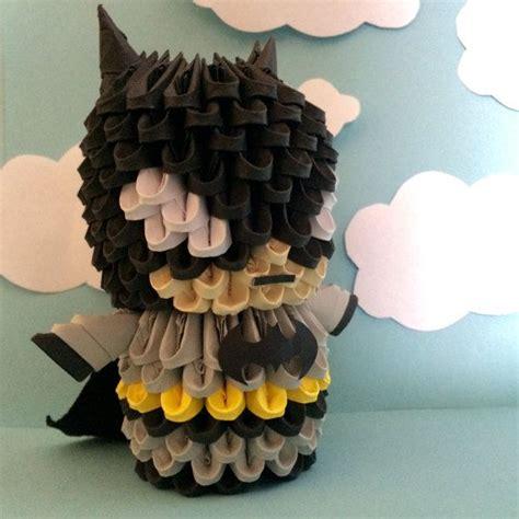 3d origami batman tutorial 25 best ideas about 3d origami on pinterest modular