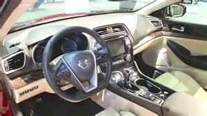 Nissan Maxima 2015 Interior 2016 Nissan Maxima Interior The Fast Car