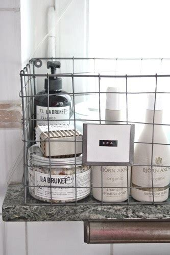 Wire Bathroom Storage Wire Storage Basket For Products Get Organized