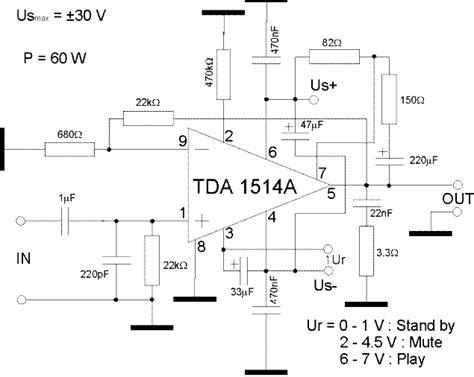 Power Lifier 60 Watt lificador de 60w para guitarra con tda1514a www pesadillo