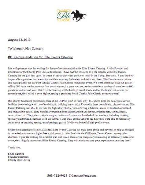 charity nomination letter charity letter of recommendation 28 images charity