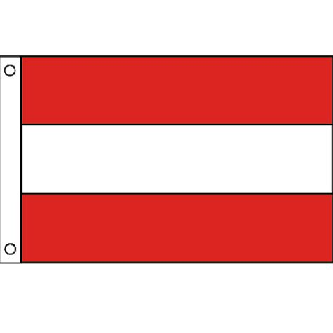 flags of the world red and white stripes triple stripe flag red white red
