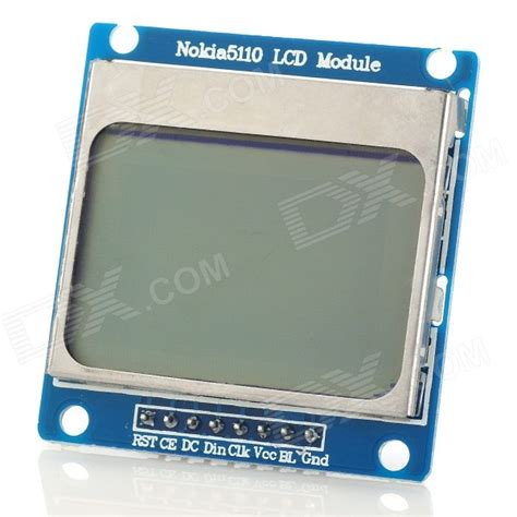 Lcd Nokia 6 1 6 quot nokia 5110 lcd module w blue backlit for arduino