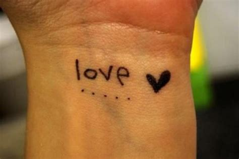tattoo love wrist 45 hot girl wrist love tattoos golfian com