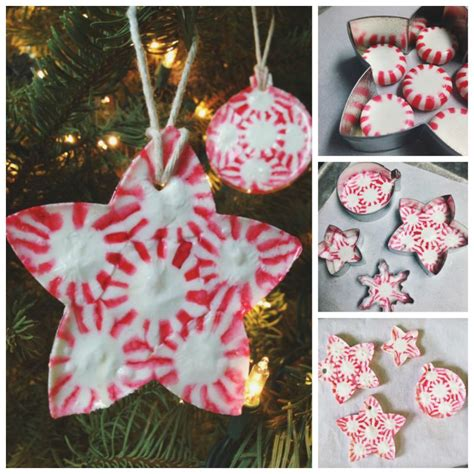 creative ideas diy peppermint candy christmas ornaments