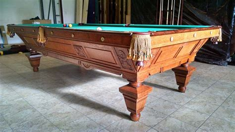 vintage brunswick pool table antique brunswick billiard tables for sale