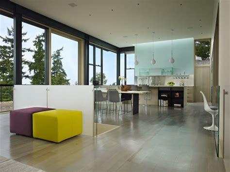 modern hillside renovation stuns with refined interior design