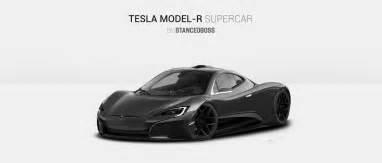 Tesla Type R Tesla Model R Supercar Render Teslamotors