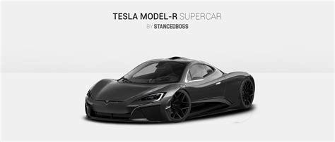 New Tesla Model R by Tesla Model R Supercar Render Teslamotors