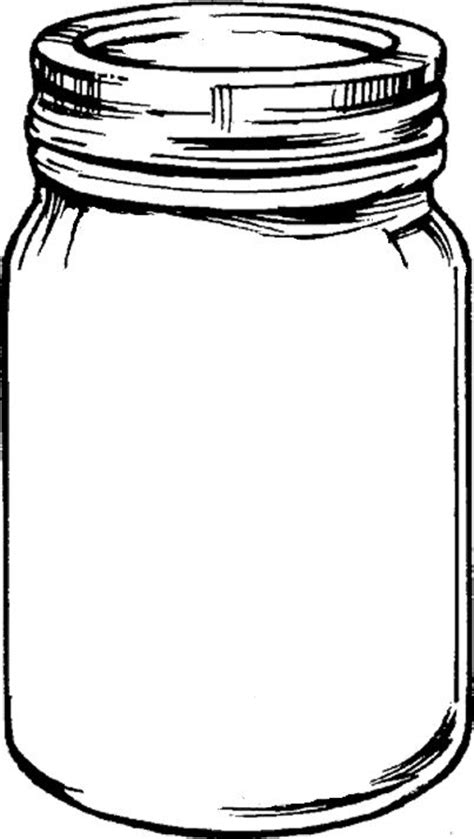 drawing of a mason jar google search logo herbs