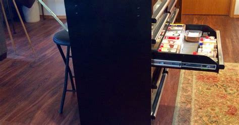 2 Island Kitchen Tool Box Made Into A Kitchen Island With Side Bar For