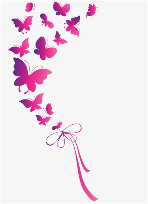 wallpaper butterfly pink vector pink butterfly pink butterfly vector png and vector for