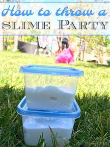 Kids Backyard Pool How To Throw A Slime Birthday Party 183 The Typical Mom