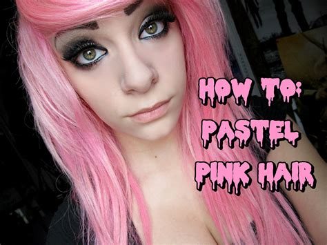all about hair for pink hair colour for how to dye your hair pastel pink youtube