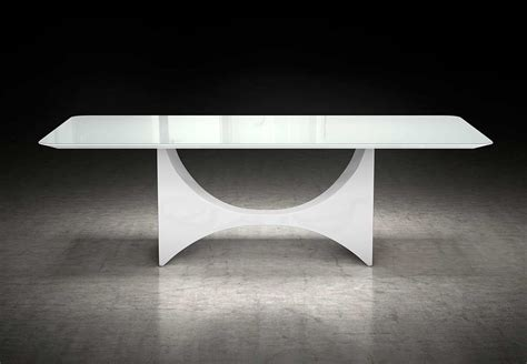 White Glass Top Dining Table White Glass Top Dining Table Ml Clarence Modern Dining