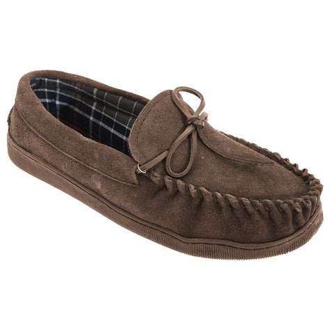 moccasin loafer sleepers mens adie real suede moccasin loafer slip on