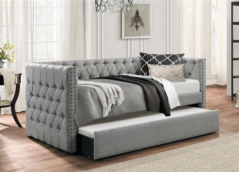 trundle couch bed roberta day bed with trundle bed