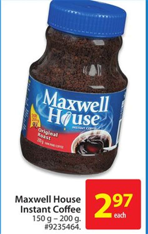 maxwell house instant coffee maxwell house instant coffee on sale salewhale ca