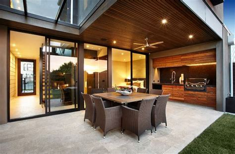 modern outdoor kitchen designs outdoor kitchen designs featuring pizza ovens fireplaces