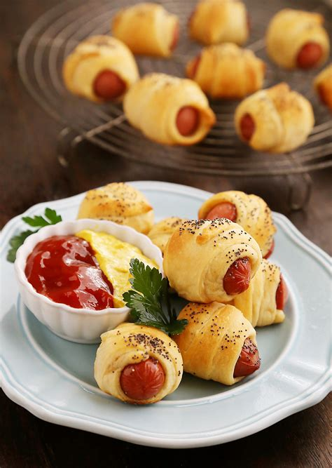 appetizers hot 3 ingredient crescent rollups