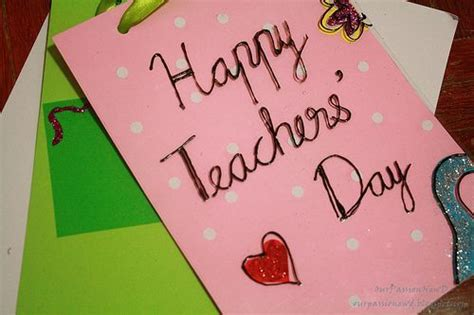 Teachers Day Greeting Cards Handmade - happy teachers day quotes messages images essay speech