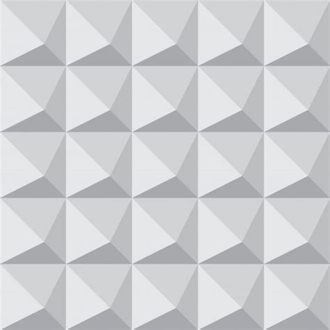 geometric seamless patterns pack vector premium download seamless 3d geometric pattern tile with pyramid shape